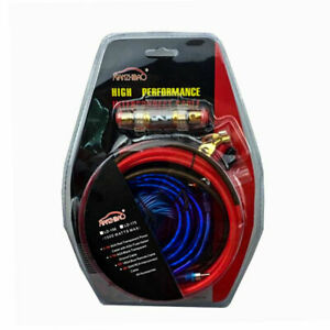 1500W-Complete-10AWG-GAUGE-Car-Amp-Audio-Amplifier-Cable-Subwoofer-Wiring-Kit
