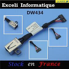 Dell Inspiron 14 7437 DC Power Jack Socket Câble sur connecteur pin