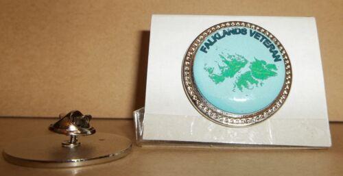 H M Armed Forces Falklands Veteran Lapel pin badge