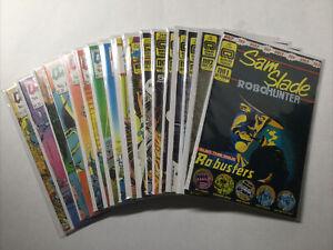 Sam Slade Robo Hunter 1-17 Very Fine-Near Mint Lot Run Set Quality Comics