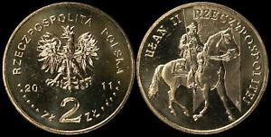 Pologne. 2 Zloty. 2011 (Pièce KM#Y.780 Neuf) Uhlan