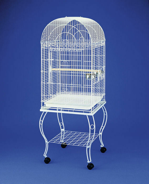 Mypets ® gabbia per uccelli PEARL bianca XL VOLIERA VOLIERA gabbia per uccelli