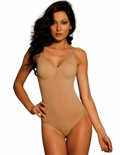 Details about  /Body Wrap Shapewear Firm Control Underwire Bodysuit 44001