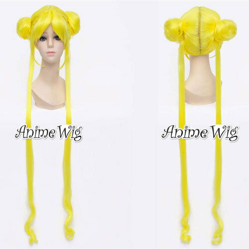 Cosplay Princess Japan Hote Characters Anime Perücke 2Pferdeschwanz 100cm