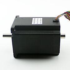 NEMA34 1200 oz-in Stepper Motor – Dual Shaft (KL34H2120-42-8B)