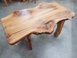 Maserulme Couchtisch Urholz Unikat Natur Holz Mobel Ulme Ebay