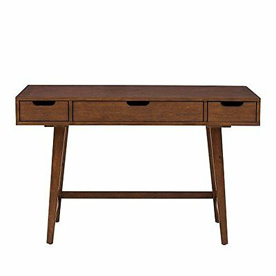 Right2Home Mid-Century Writing Desk DS-A130-550 Brown  NEW