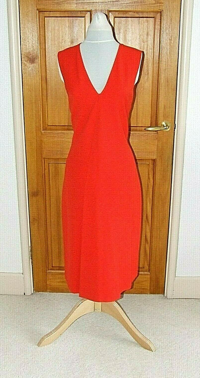 TEATUM JONES LABEL MIX RED SPECIAL OCCASION RACES PARTY  DRESS SIZE UK14