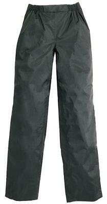 Tucano Urbano Motorcycle Diluvio Trousers Black Waterproof Over Trousers