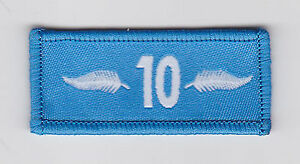 NEW ZEALAND SCOUTS - NZ SCOUT LEADER 10 YEARS SERVICE MEDAL EMBLEM RIBBON PATCH