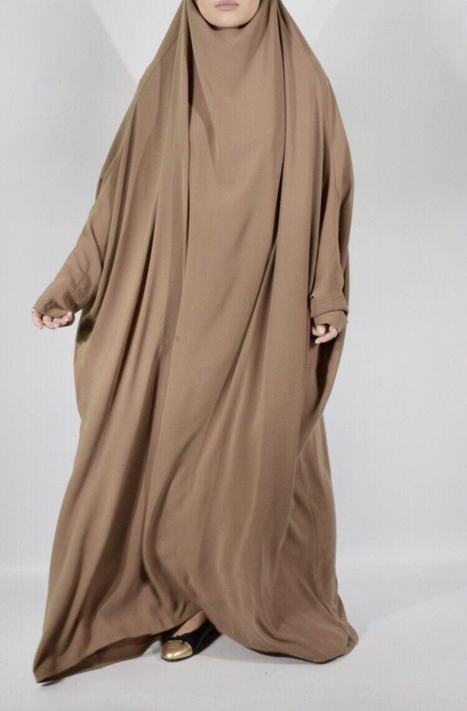 Jilbab Beige AHD LONDON size 56