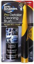 Sonic Scrubber Pro Detailer Powered Cleaning Brush for Car Bike & Boat Detailing