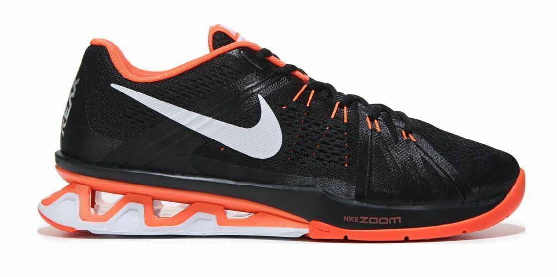 buy popular 30a86 74345 NEW NIKE REAX LIGHTSPEED Running MENS Black Black Black Hyper orange NIB  Limited NR 2e2fa1