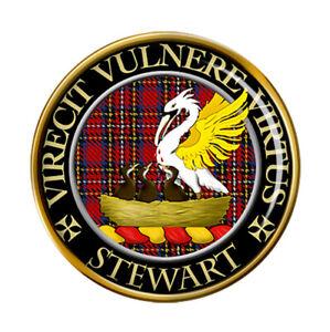 Stewart-Clan-Ecossais-Broche-Badge