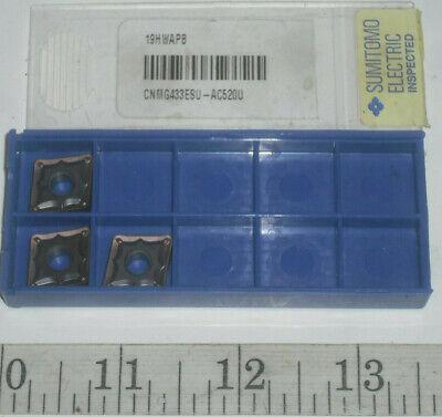 Sumitomo TPMT21.52 ESU Grade AC510U Carbide Turning Insert QTY 10  19HVWBX