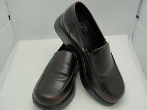00268288458 DANSKO Women s Dark Brown Leather Slip On Loafers Clogs Shoes Size ...