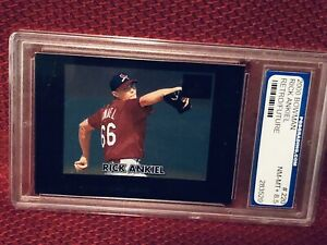 2000-Rick-Ankiel-220-ROOKIE-Bowman-Baseball-Card-PGS-Graded-NM-MT-8-5