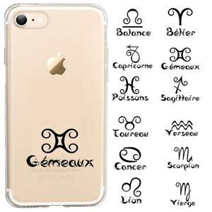 Coque Iphone 7 PLUS 8 PLUS signe astrologique personnalisee