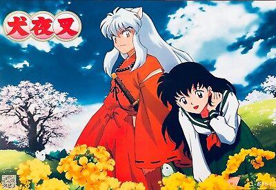 Japanese Anime INUYASHA Poster #A7 Kagome Sesshomaru Shippo