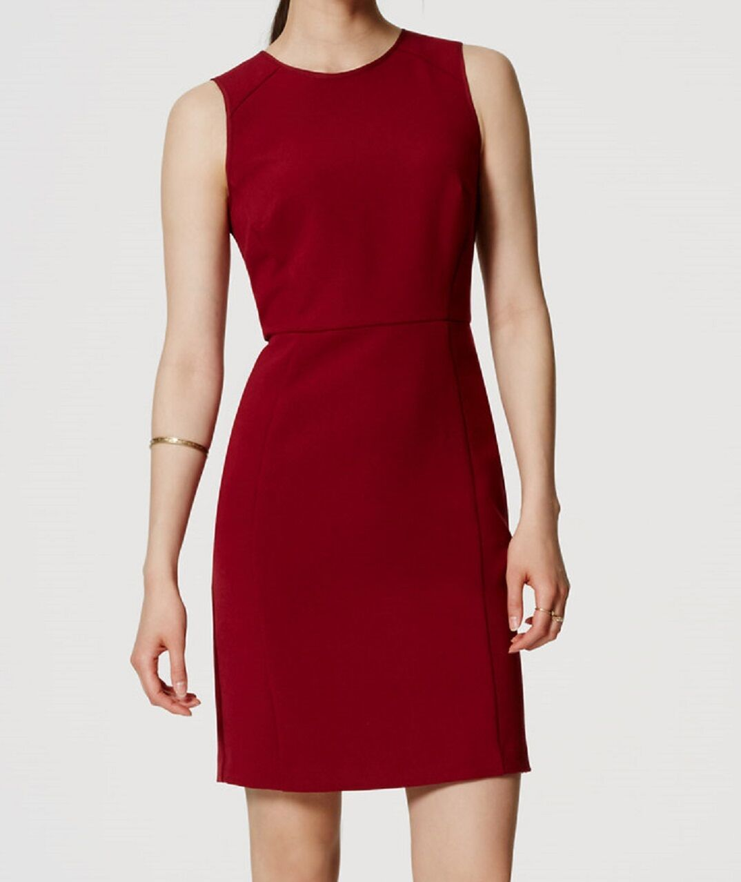 NWT Ann Taylor LOFT Paneled Sleeveless Sheath Dress Größe 2