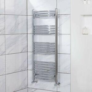 700mm Wide Electric Towel Warmer Chrome Heated Rail Radiator Designer Bathroom