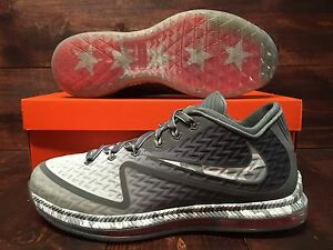 Nike field general 2 trainer shoes cool grey pure platinum sz 749310