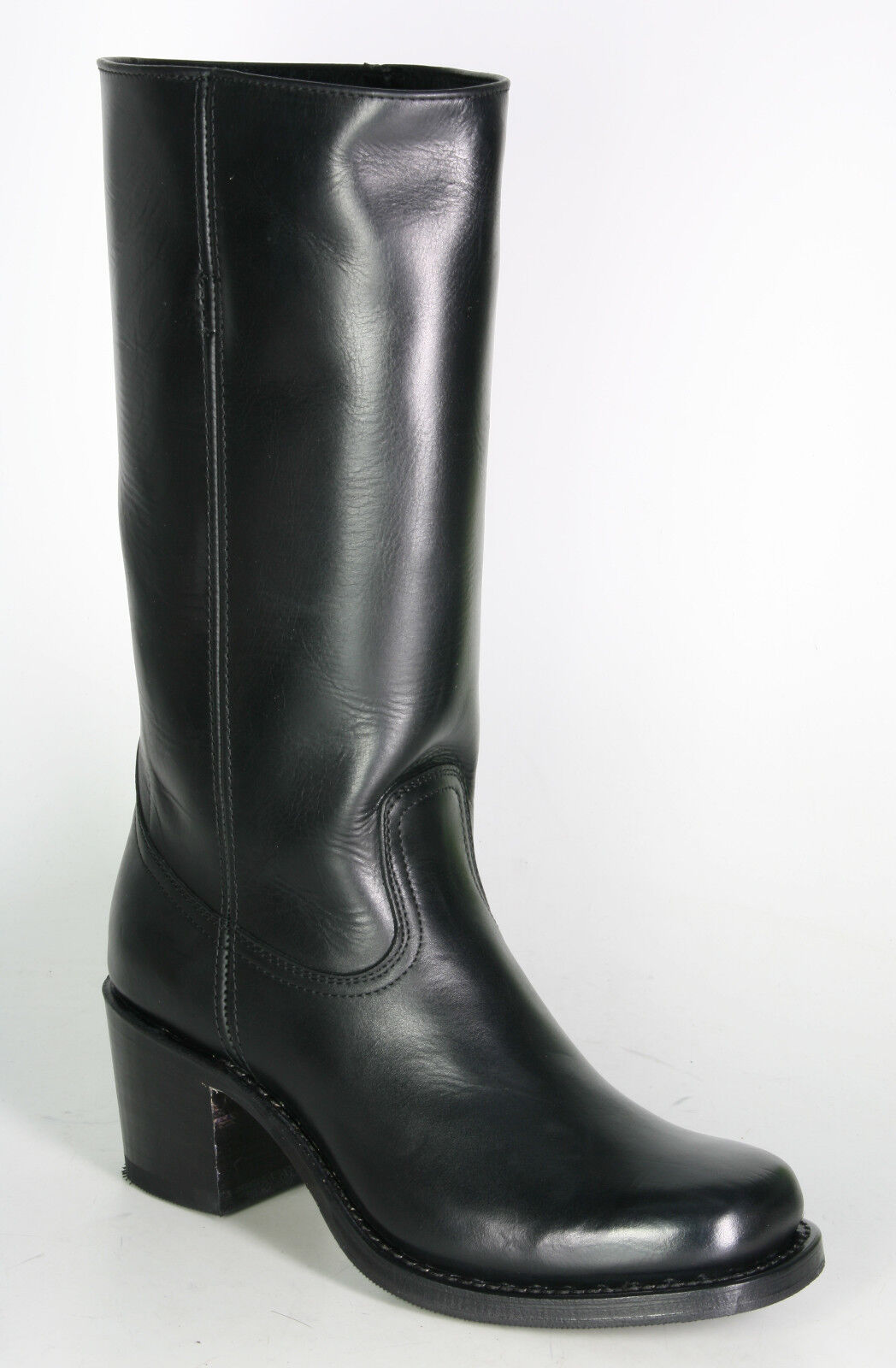 9575 Sendra Stiefel Toledo schwarz Handmade Lederstiefel  Boho-Style