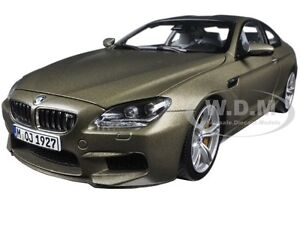 Captivating Image Is Loading BMW M6 F13M COUPE FROZEN BRONZE 1 18
