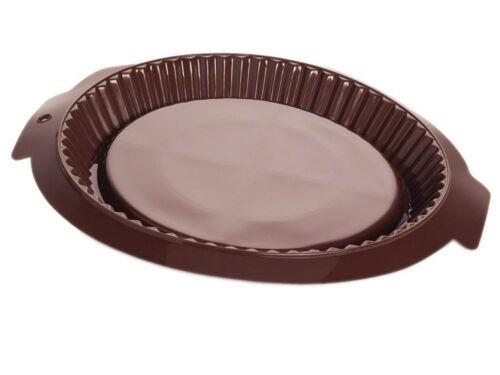 Silicone Moule environ Linzer gâteau cakes aux fruits gâteau sol 32,5 x 3,2 CM
