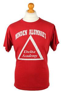 Vintage-Russel-Athletics-Unisex-T-Shirt-Shirt-Tee-Crew-Neck-M-Red-TS667