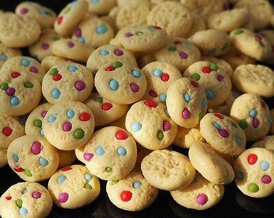DOLLHOUSE MINIATURE 20 MINI EASTER COOKIES BAKERY FOOD SUPPLY SWEET DECO 1:12