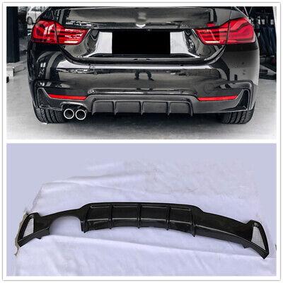BMW 4 Cabrio Rear Bumper Spoiler Diffuser Twin Exhaust Hole Single Pipe 2014