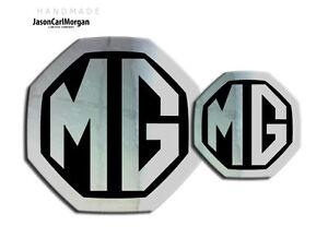 MG-ZS-MK2-LE500-Style-Front-Rear-Badge-Inserts-59mm-95mm-Chrome-Black-Badges