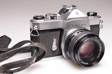 PENTAX SPOTMATIC 35mm SLR CAMERA W/ SMC TAKUMAR 55mm f2 LENS EXCELLENT