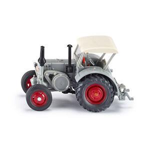 Siku-Farmer-3459-Lanz-Bulldog-Schlepper-Traktor-grau-Massstab-1-32-NEU