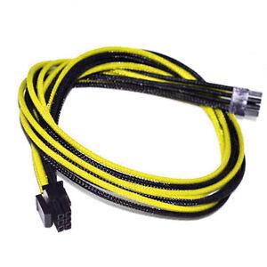 6pin-pcie-30cm-Corsair-Cable-AX1200i-AX860i-760i-RM1000-850-750-650-Yellow-Black