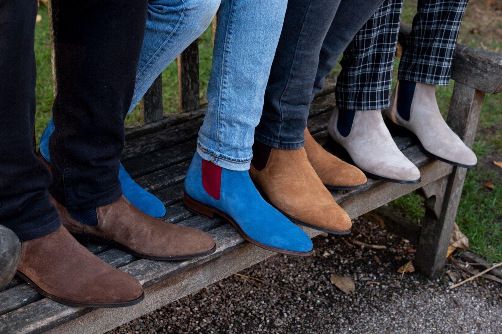 Chelsea botas tan, Borgoña Elástico Elástico Elástico Talla 13 por Chelsea y botae 6f473f