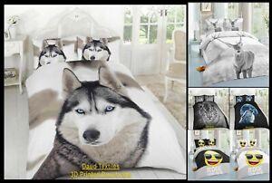 Conjunto-de-funda-nordica-3D-Animal-Print-Ropa-de-Cama-Super-King-Size-Edredon-Doble-Solo-Nuevo
