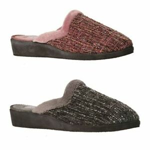 GROSBY-CHELSEA-WOMENS-SLIPPERS-MOCCASINS-SLIP-ON-SHOES-PINK-GREEN-SIZE-5-10