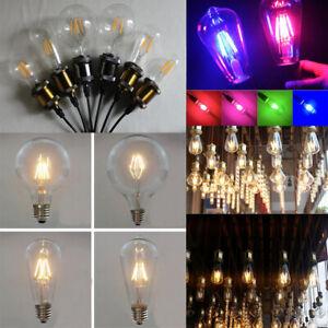 1-6xE27-2W-4W-6W-8W-Vintage-Edison-LED-Filament-Bulbs-Retro-Ambience-Lights-Lamp