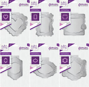 * Nouveau 2018 * Gemini Cut & gaufrer dossiers-par Crafters Companion-afficher le titre d`origine lO8nyl0Z-07223050-211206980