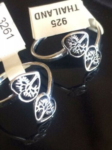.925 All Sterling Adjustable Rings~ Tree of Life~The Fish~$7.99 Sizes 5 ~ 9