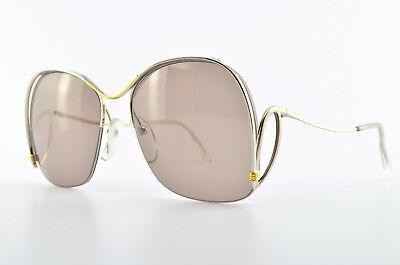 Dynamisch Essilor Sonnenbrille Mod.282 55[]17 120 Vintage Sunglasses France Silber Halfrim Gute Begleiter FüR Kinder Sowie Erwachsene