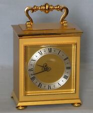 Concord - Wind-Up Carriage Clock - Time & Strike - Swiss - 8-Day Movement