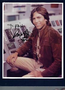 "Richard Hatch signed 8""x 10"" photographs Battlestar Galactica"