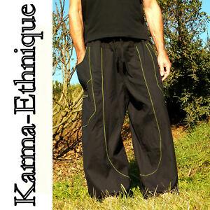 Femme Coton Grande 34 Sarouel du Homme Taille Népal Au Pantalon Et WcIqf0cX