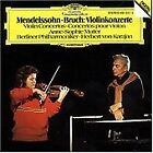 Mendelssohn and Bruch: Violin Concertos (CD 1983) Anne -Sophie Mutter, Karajan