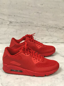 73dd0737d9d3 Nike Air Max 90 Hyperfuse Gym Red HYP PRM 100% Authentic University ...