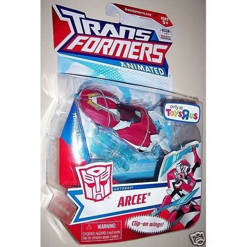 TRANSFORMERS TRANSFORMERS TRANSFORMERS ANIMATED Collection__Autobot ARCEE figure_Exclusive Limited Edition e43793