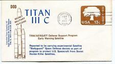 1977 Titan III C Secret Military Payload Satellite Cape Canaveral Complex 40 USA